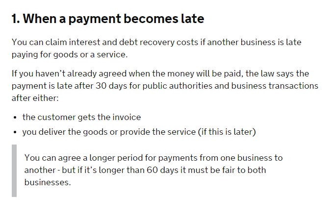 Blogger Payment Terms Do It Anyway - Invoice 30 day terms